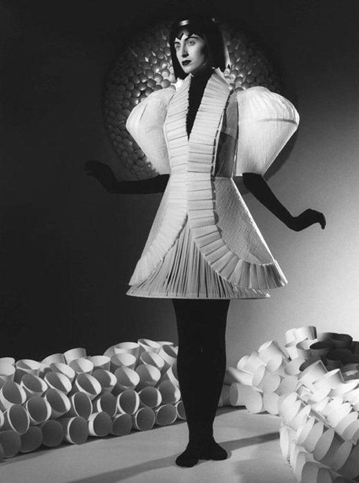 002 jum nakao paper dresses Одежда из бумаги от Jum Nakao