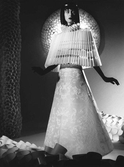 003 jum nakao paper dresses Одежда из бумаги от Jum Nakao