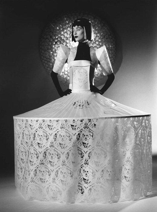 004 jum nakao paper dresses Одежда из бумаги от Jum Nakao