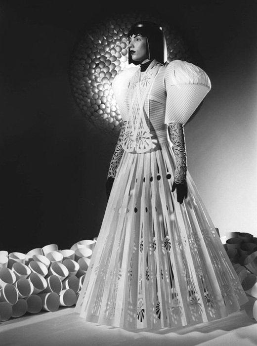 007 jum nakao paper dresses Одежда из бумаги от Jum Nakao