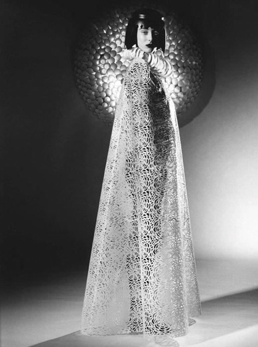 008 jum nakao paper dresses Одежда из бумаги от Jum Nakao