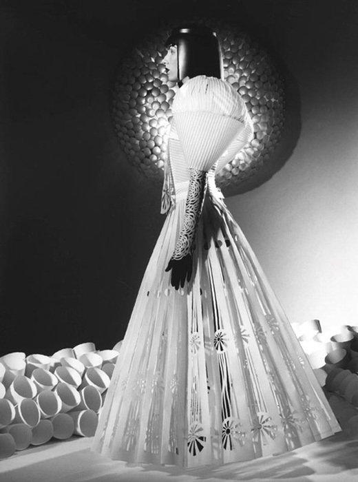 012 jum nakao paper dresses Одежда из бумаги от Jum Nakao