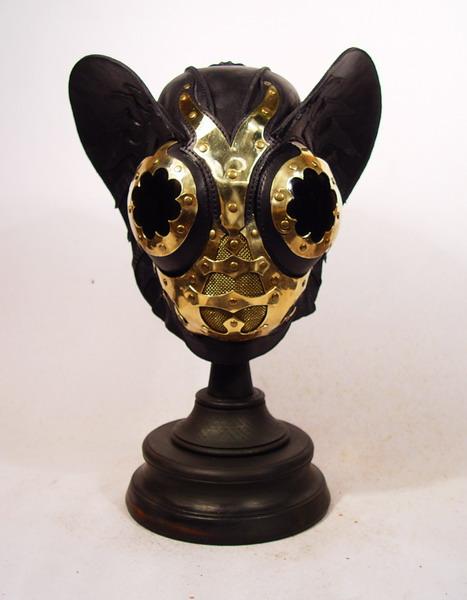 Black JSteam Mask 1 Фильтрующий противогаз от Bob Basset на Хеллоуин