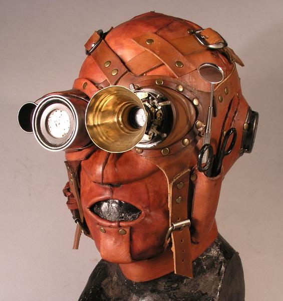 Doctor Steam 1 Фильтрующий противогаз от Bob Basset на Хеллоуин