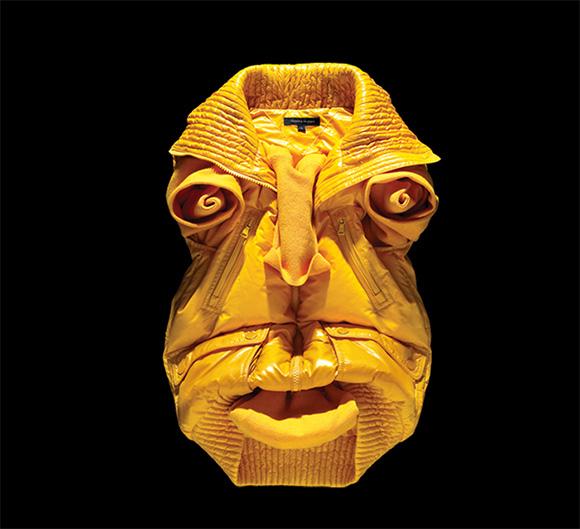 Fashion Faces by Bela Borsodi 1 Оригами и одежда