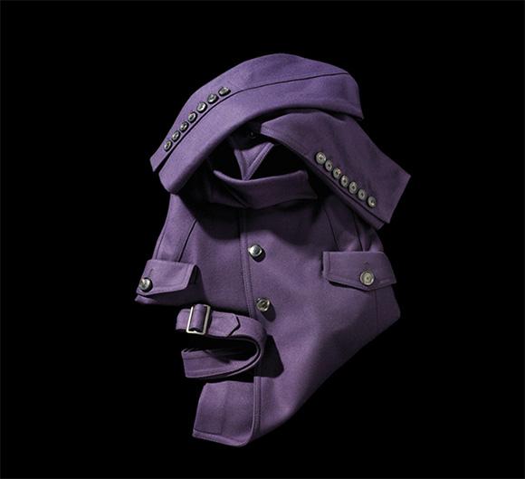 Fashion Faces by Bela Borsodi 10 Оригами и одежда