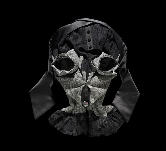 Fashion Faces by Bela Borsodi 5 Оригами и одежда