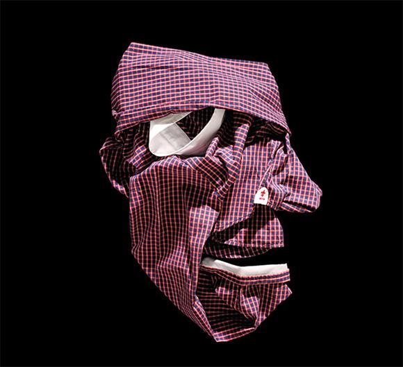Fashion Faces by Bela Borsodi 7 Оригами и одежда