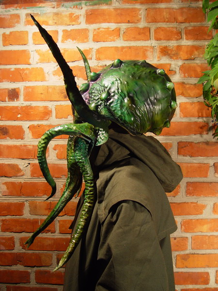 Green Cthulhu 4 Фильтрующий противогаз от Bob Basset на Хеллоуин