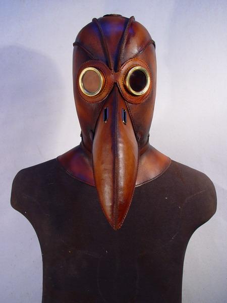 Plague doctor 2 Фильтрующий противогаз от Bob Basset на Хеллоуин