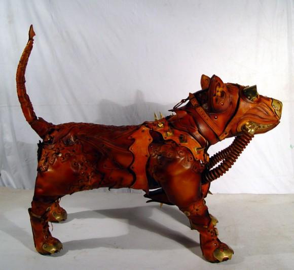 Steam Dog 6 580x532 Фильтрующий противогаз от Bob Basset на Хеллоуин