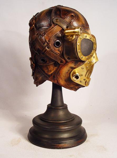 Steampunk leather mask 3 Фильтрующий противогаз от Bob Basset на Хеллоуин