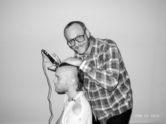 Terry Richardson and Jared Leto 580x435 Терри Ричардсон – фотографии