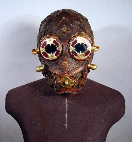 Victorian Gas Mask 11 Фильтрующий противогаз от Bob Basset на Хеллоуин