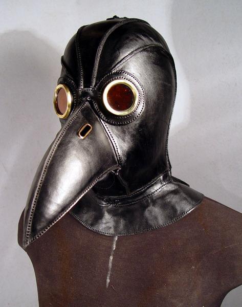 black plague doctor 5 Фильтрующий противогаз от Bob Basset на Хеллоуин