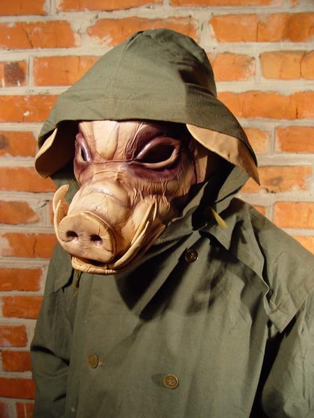 pig 1 Фильтрующий противогаз от Bob Basset на Хеллоуин